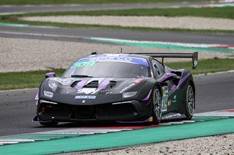 Omar Jackson Charles Hollings, Ferrari 488 Challenge Evo GT CUP #309, KESSEL Motorspor, CAMPIONATO ITALIANO GRAN TURISMO