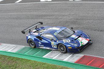 Peter Mann Lorenzo Case, Ferrari 488 GTB GT3 AM #51, AF Corse, CAMPIONATO ITALIANO GRAN TURISMO