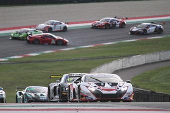 Pietro Perolini Jonathan Cecotto, Lamborghini Huracan GT3 evo GT3 PRO AM #88, LP Racing , CAMPIONATO ITALIANO GRAN TURISMO