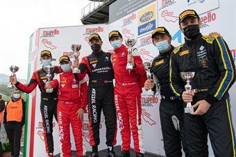 Podium race 2 GT3 AM , CAMPIONATO ITALIANO GRAN TURISMO