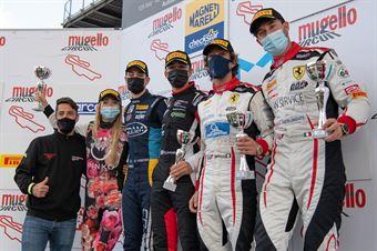 Podium race 2 GT3 Cup, CAMPIONATO ITALIANO GRAN TURISMO