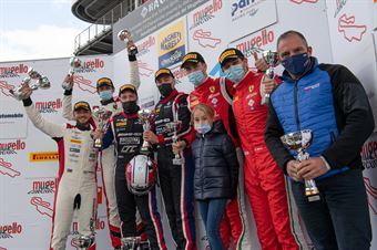 Podium race 2 GT3 PRO, CAMPIONATO ITALIANO GRAN TURISMO
