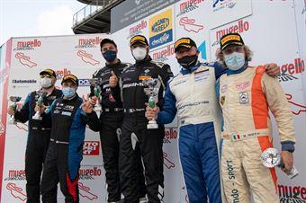 Podium race 2 GT4 AM , CAMPIONATO ITALIANO GRAN TURISMO
