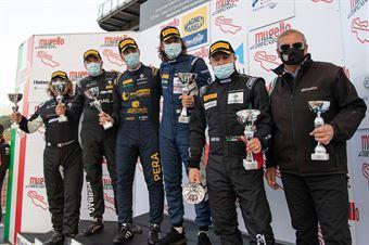 Podium race 2 GT4 PRO AM , CAMPIONATO ITALIANO GRAN TURISMO