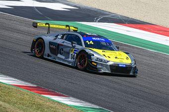 Filip Salaquarda Karol Basz Vito Postiglione, Audi R8 LMS #14, Audi Sport Italia, CAMPIONATO ITALIANO GRAN TURISMO