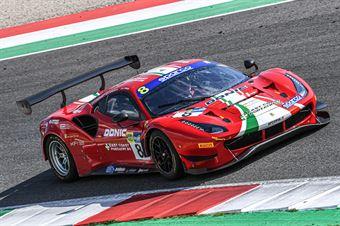 Carrie Schreiner Sean Hudspeth Antonio Fuoco, Ferrari 488 Evo GT3 #8, AF Corse, CAMPIONATO ITALIANO GRAN TURISMO