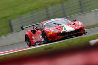 Simon Mann Matteo Cressoni, Ferrari 488 GTB GT3 PRO AM #21, AF Corse, CAMPIONATO ITALIANO GRAN TURISMO
