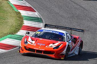 Stephen Earle Niccolo Schiro, Ferrari 488 Evo GT3 AM #11, Kessel Racing , CAMPIONATO ITALIANO GRAN TURISMO