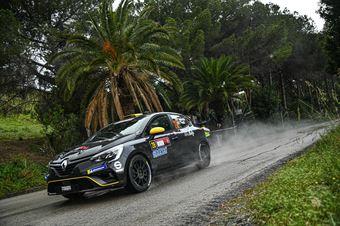 Andreucci Paolo, Francesco Pinelli (Renault Clio Rally 4 R2C #28), CAMPIONATO ITALIANO RALLY SPARCO