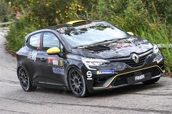 Andreucci Paolo, Francesco Pinelli (Renault Clio Rally 4 R2C #28) , CAMPIONATO ITALIANO RALLY SPARCO