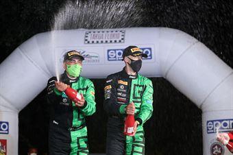 Giandomenico Basso, Lorenzo Granai (Skoda Fabia Evo R5 #3, Movisport Ssdrl), CAMPIONATO ITALIANO RALLY SPARCO