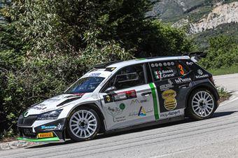 Giandomenico Basso, Lorenzo Granai (Skoda Fabia Evo R5 #3, Movisport Ssdrl) , CAMPIONATO ITALIANO RALLY SPARCO