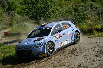Craig Breen, Luis Louka (Hyundai i20 NG R5 #42, Gass Racing Srl), CAMPIONATO ITALIANO RALLY SPARCO