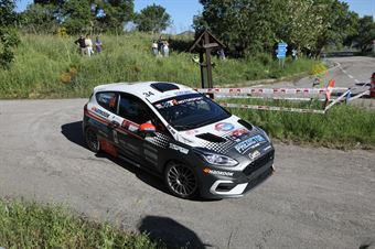 Daniele Campanaro, Irene Porcu (Ford Fiesta Rally4 R2B #34, Gass Racing Srl), CAMPIONATO ITALIANO RALLY SPARCO