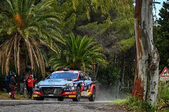 Andrea Crugnola, Pietro Ometto (Hyundai i20 NG R5 #4, Movisport Ssdrl), CAMPIONATO ITALIANO RALLY SPARCO