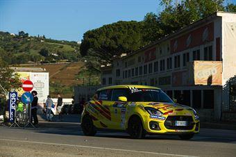 Giorgio Fichera, Alessandro Mazzocchi (Suzuki Swift Sport Hybrid RA5H #44, Meteco Corse S.r.l.), CAMPIONATO ITALIANO RALLY SPARCO