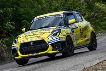 Simone Goldoni, Eric Macori (Suzuki Swift Sport Hybrid RA5H #43), CAMPIONATO ITALIANO RALLY SPARCO