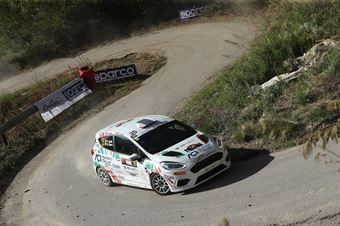 Francesco Lovati, Giacomo Ciucci (Ford Fiesta R2B #35, Gass Racing Srl), CAMPIONATO ITALIANO RALLY SPARCO