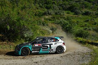 Rudy Michelini, Michele Perna (Volkswagen Polo GTI R5 #5, Movisport Ssdrl), CAMPIONATO ITALIANO RALLY SPARCO
