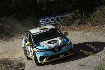 Davide Nicelli Tiziano Pieri, Renalt Clio RS Line #51, CAMPIONATO ITALIANO RALLY SPARCO