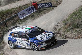 Thomas Paperini, Simone Fruini (Skoda Fabia Evo R5 #19, Art Motorsport 2.0 Asd), CAMPIONATO ITALIANO RALLY SPARCO