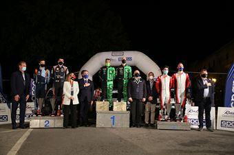 Cerimonia di Premiazione, Podio, CAMPIONATO ITALIANO RALLY SPARCO