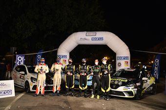 Premiazione Clio Trophy Itaia, CAMPIONATO ITALIANO RALLY SPARCO