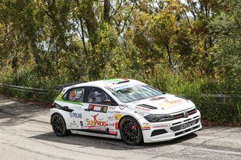 Salvatore Riolo, Maurizio Marin (Volkswagen Polo GTI R5 #18, CST Sport), CAMPIONATO ITALIANO RALLY SPARCO
