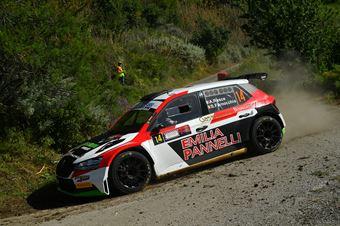 Antonio Rusce, Sauro Farnocchia (Skoda Fabia Evo2 R5 #14, Gass Racing Srl), CAMPIONATO ITALIANO RALLY SPARCO