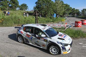 Federico Santini, Gabriele Romei (Peugeot 208 Rally 4 R2C #31), CAMPIONATO ITALIANO RALLY SPARCO