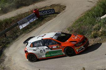 Giacomo Scattolon, Giovanni Bernacchini (Volkswagen Polo GTI R5 #10, Movisport Ssdrl), CAMPIONATO ITALIANO RALLY SPARCO