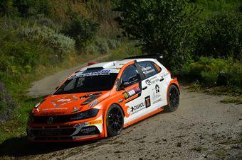 Giacomo Scattolon, Giovanni Bernacchini (Volkswagen Polo GTI R5 #10, Movisport Ssdrl) , CAMPIONATO ITALIANO RALLY SPARCO
