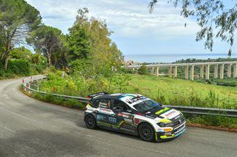 Marco Signor, Francesco Pezzoli (Volkswagen Polo GTI #7, Sama Racing A.s.d.), CAMPIONATO ITALIANO RALLY SPARCO