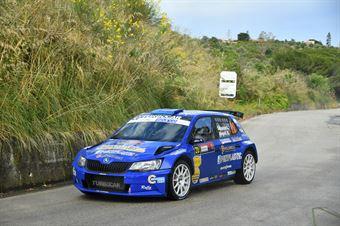 Liberato Sulpizio, Alessio Angeli (Skoda Fabia R5 #20, Rally Team S.r.l.), CAMPIONATO ITALIANO RALLY SPARCO
