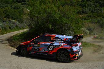 Ole Christian Veiby, Jonas Anders Andersson (Hyundai I20 wrc #902) , CAMPIONATO ITALIANO RALLY SPARCO