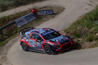 Ole Christian Veiby, Jonas Anders Andersson (Hyundai I20 wrc #902), CAMPIONATO ITALIANO RALLY SPARCO