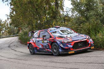 Ole Christian Veiby, Jonas Andersson (Hyundai I20 Coupe WRC #902), CAMPIONATO ITALIANO RALLY SPARCO