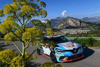 Pier Francesco Verbilli, Marinella Bonaiti (Renault Clio RS Line R1 #52, Publi Sport Racing Asd), CAMPIONATO ITALIANO RALLY SPARCO