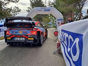 Shakedown 105 Targa Florio, CAMPIONATO ITALIANO RALLY SPARCO