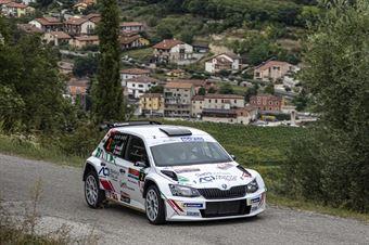 ANDOLFI FABIO SAVOIA STEFANO, SKODA FABIA R R5 #2, CAMPIONATO ITALIANO RALLY SPARCO