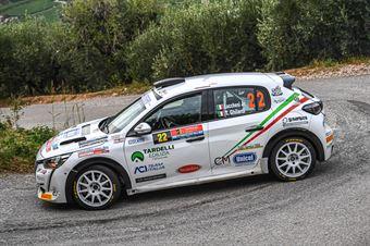 LUCCHESI   GHILARDI, PEUGEOT 208 RALLY 4 #22, CAMPIONATO ITALIANO RALLY SPARCO
