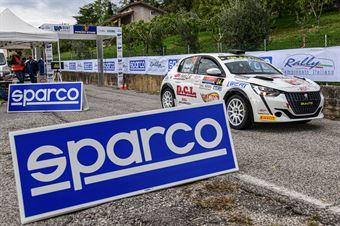 STRAFFI MIRCO NESTI MARCO, PEUGEOT 208 GT LINE #24, CAMPIONATO ITALIANO RALLY SPARCO