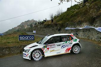 Fabio Andolfi Stefano Savoia, Skoda Fabia R5 #3, Gass Racing, CAMPIONATO ITALIANO RALLY SPARCO