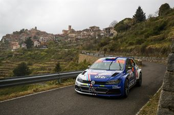 Simone Campedelli, Tania Canton (Volkswagen Polo R5 #16, ISLAND MOTORSPORT), CAMPIONATO ITALIANO RALLY SPARCO
