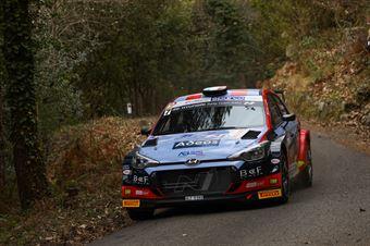Andrea Crugnola Pietro Elia Ometto, Hyundai i20 R5 #7, CAMPIONATO ITALIANO RALLY SPARCO