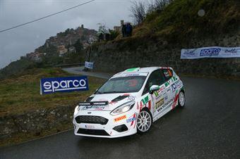 Roberto Daprà, Fabio Andrian (Ford Fiesta Rally4 #89), CAMPIONATO ITALIANO RALLY SPARCO