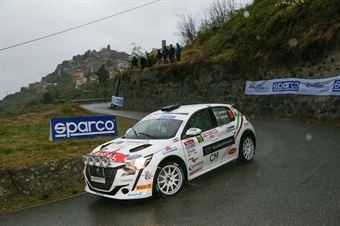 Lucchesi Jr, Titti Ghilardi (Peugeot 208 Rally4 #73), CAMPIONATO ITALIANO RALLY SPARCO