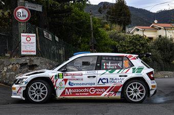 Andrea Mazzocchi Silvia Gallotti, Skoda Fabia R5 #10, Leonessa Corse, CAMPIONATO ITALIANO RALLY SPARCO