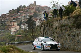 Andrea Mazzocchi Silvia Gallotti, Skoda Fabia R5 #10, Leonessa Corse, 68° Rallye Sanremo, CAMPIONATO ITALIANO RALLY SPARCO