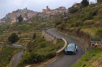 Rudy Michelini, Michele Perna (Skoda Fabia #4, Movisport), CAMPIONATO ITALIANO RALLY SPARCO